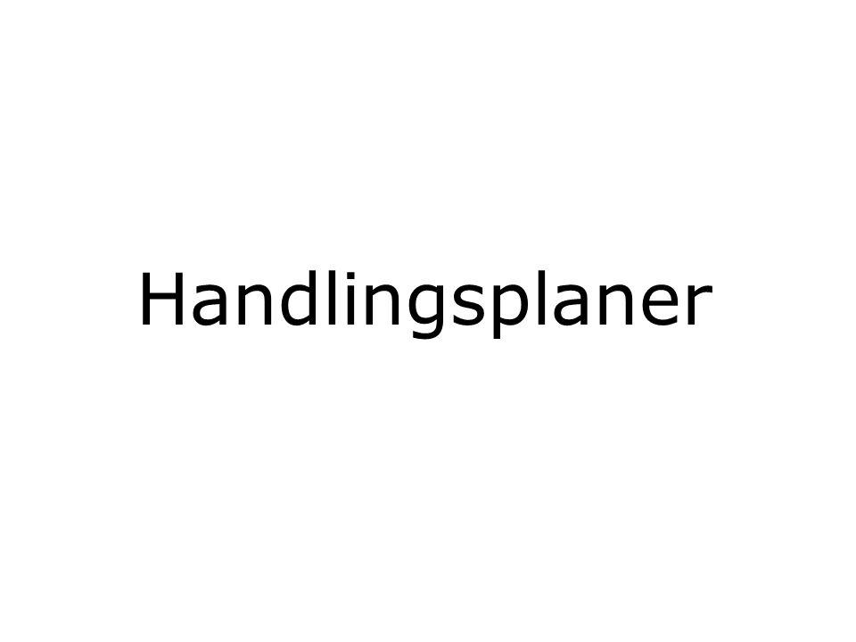 Handlingsplaner