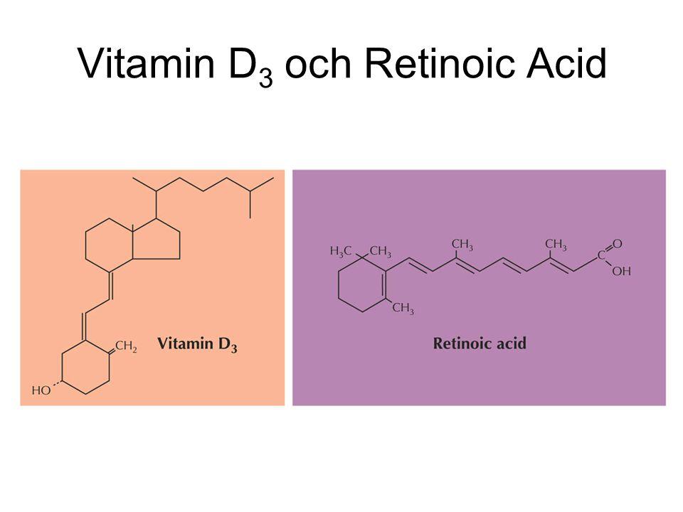 Vitamin D 3 och Retinoic Acid