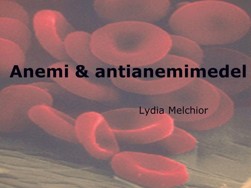 Daniel Giglio Anemi & antianemimedel Lydia Melchior