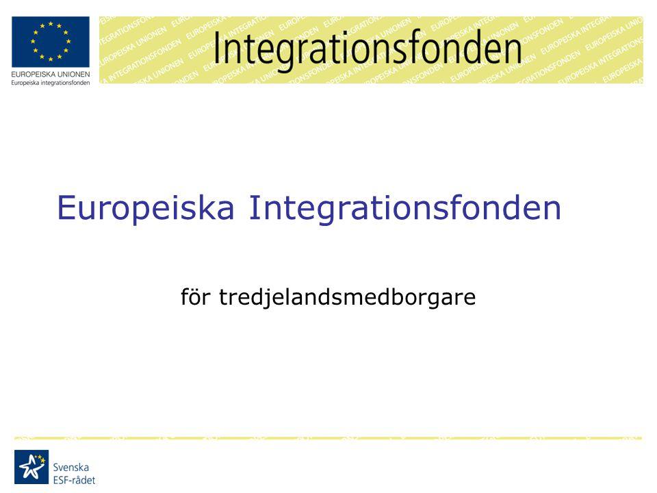 Europeiska Integrationsfonden för tredjelandsmedborgare
