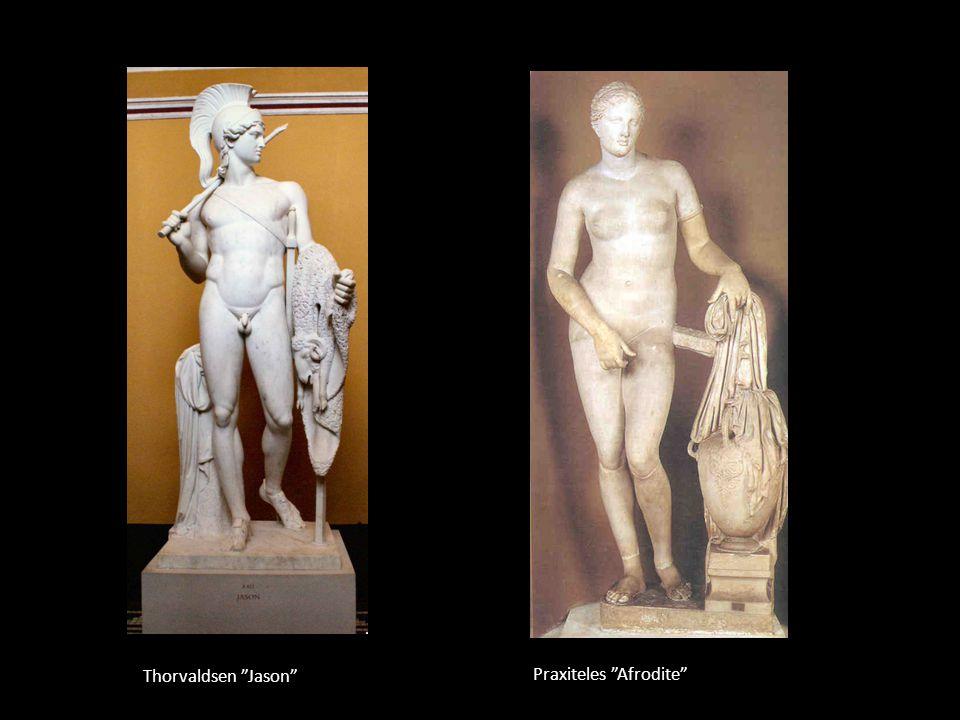 Thorvaldsen Jason Praxiteles Afrodite