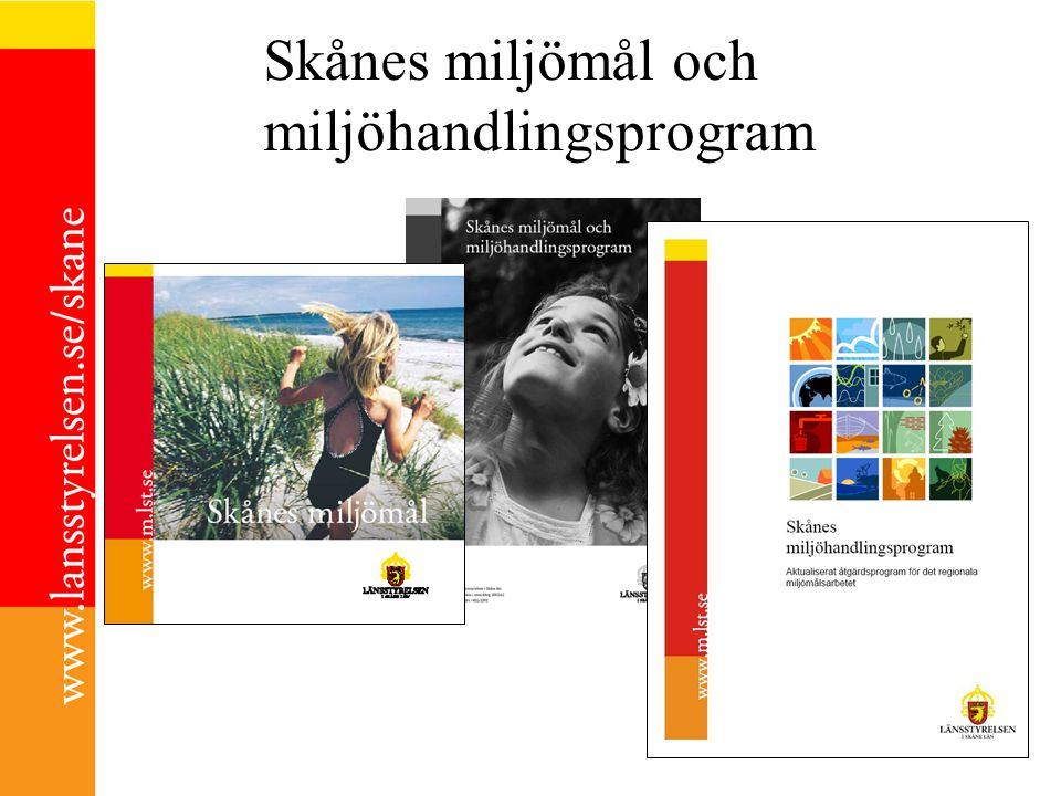 Skånes miljömål och miljöhandlingsprogram ILLUSTRATIONER: TOBIAS FLYGAR