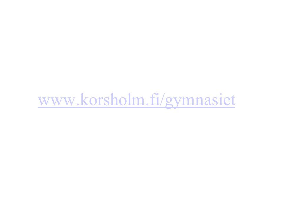 www.korsholm.fi/gymnasiet