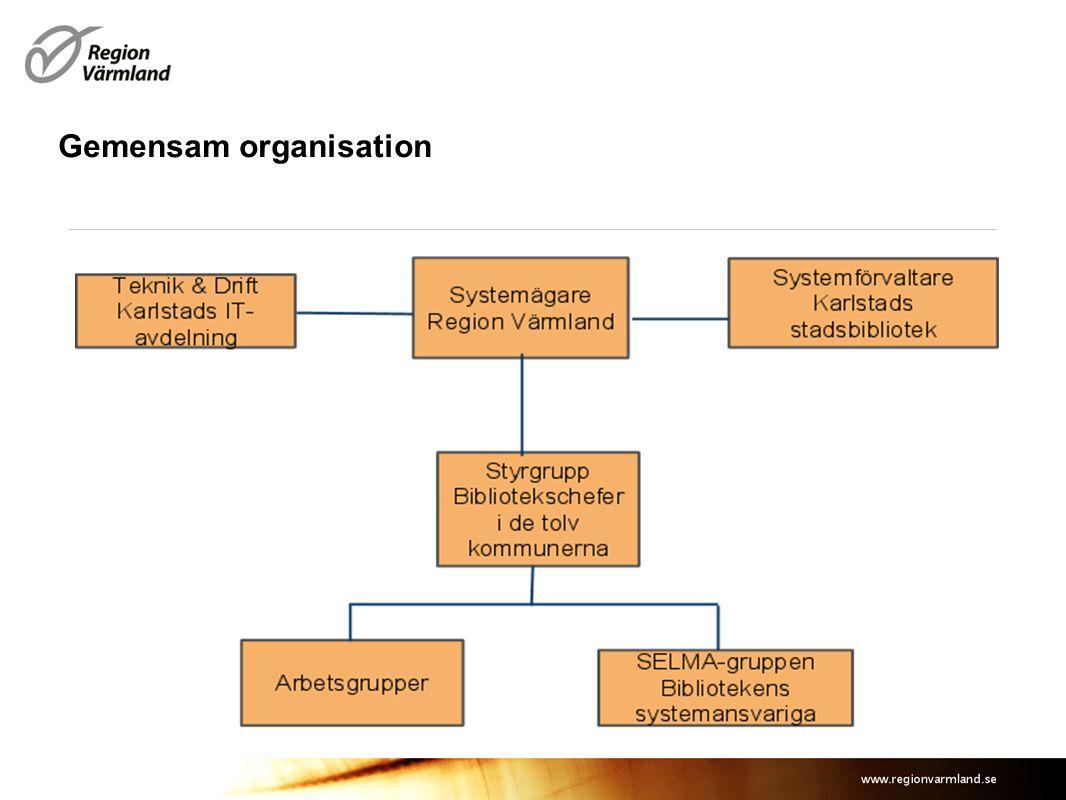 Gemensam organisation