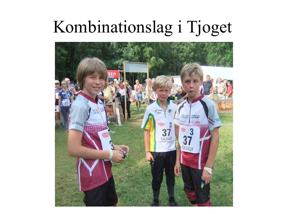 Kombinationslag i Tjoget