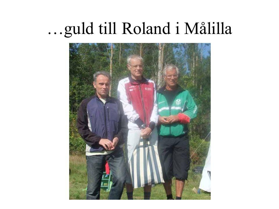 …guld till Roland i Målilla