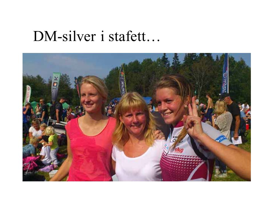DM-silver i stafett…