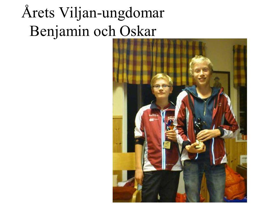 Årets Viljan-ungdomar Benjamin och Oskar