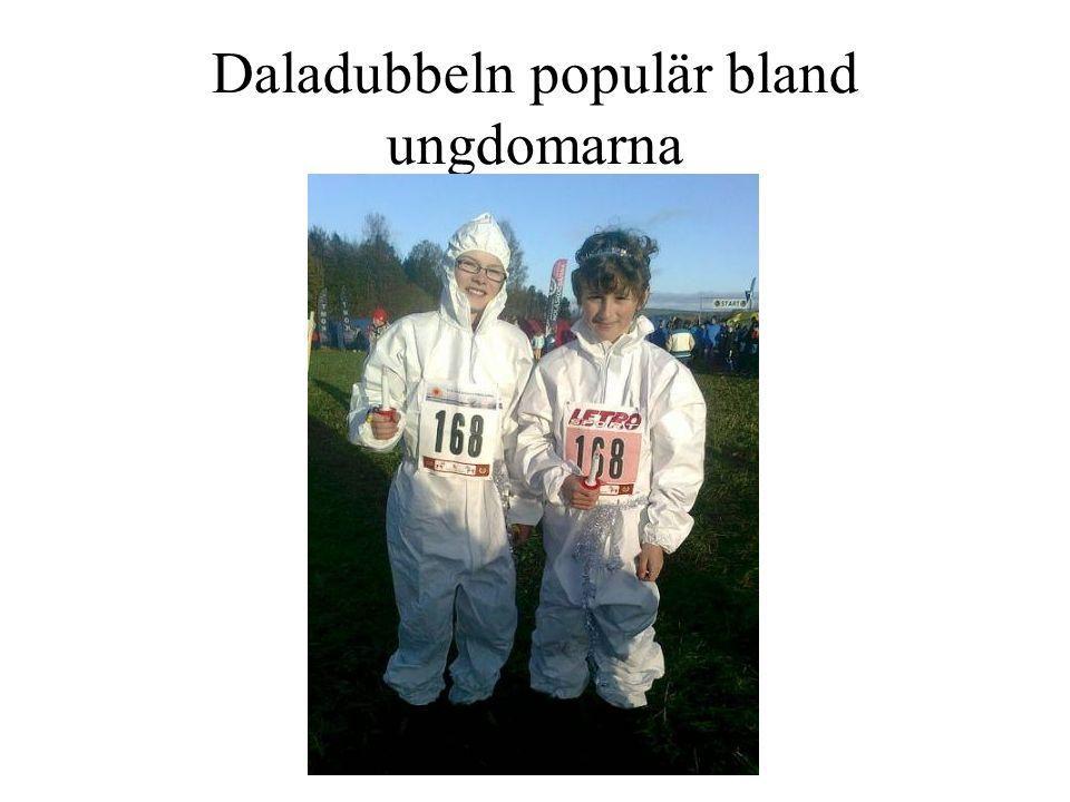 Daladubbeln populär bland ungdomarna