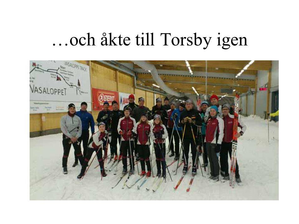 …och åkte till Torsby igen