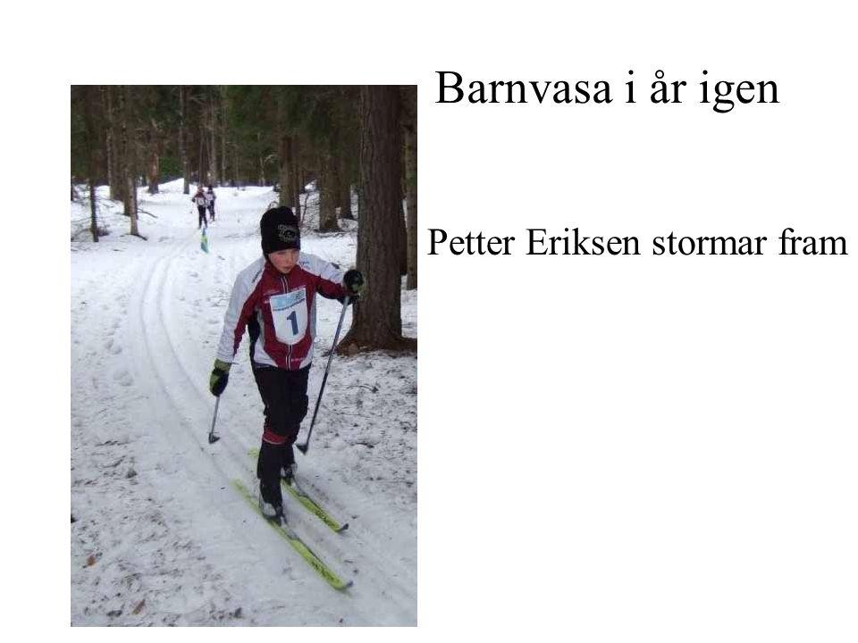 Trots lång vinter blev det orienteringspremiär i Nybro