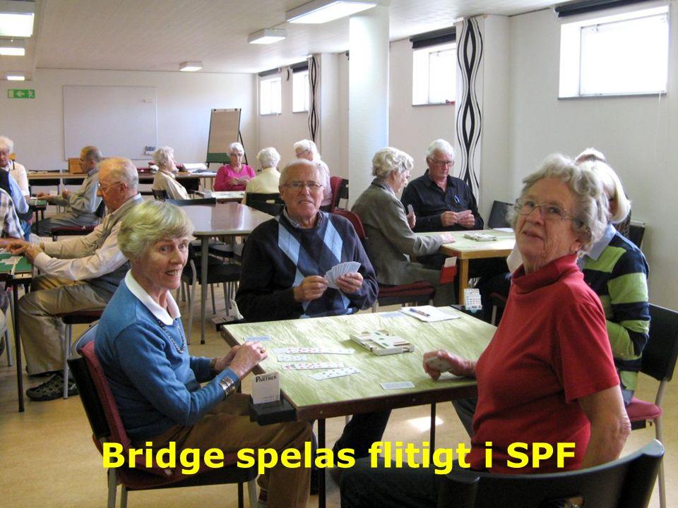 Bridge spelas flitigt i SPF