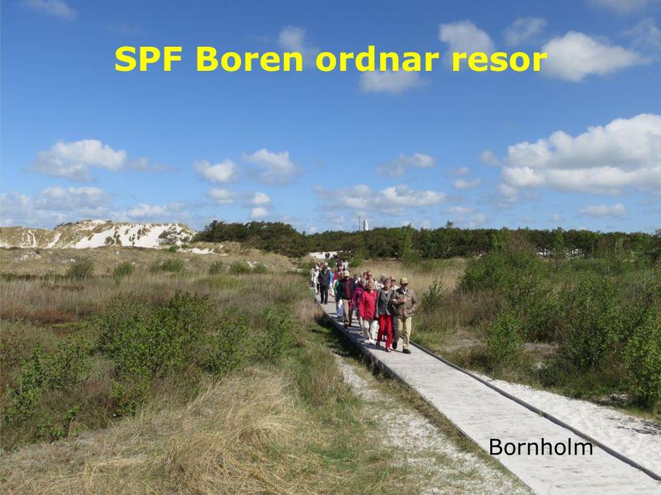 SPF Boren ordnar resor Bornholm
