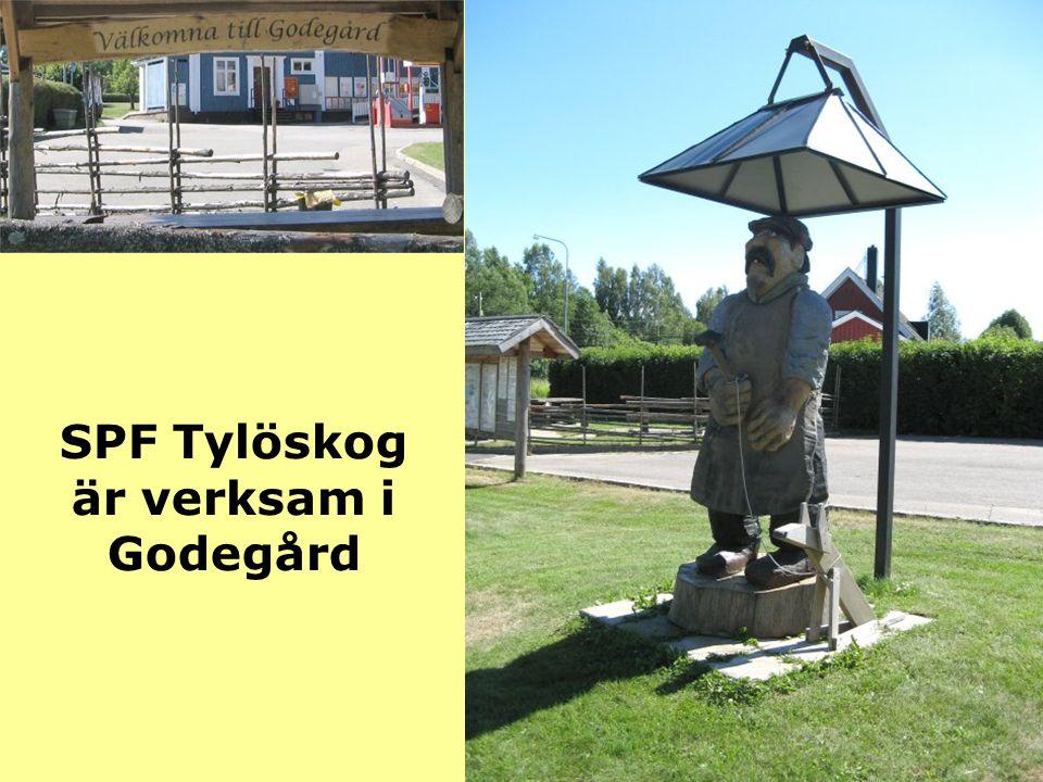 SPF Tylöskog är verksam i Godegård