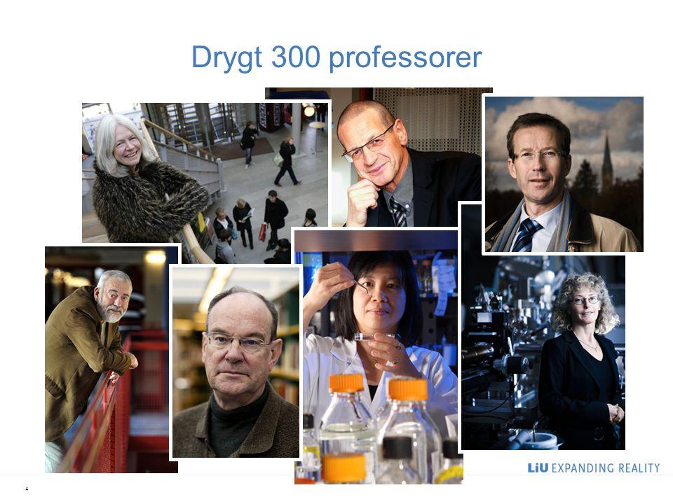 Forskarutbildning vid LiU 1 300 forskarstuderande Drygt 200 internationella doktorander Först med ny, förbättrad forskarutbildning genom forskarskolor 5