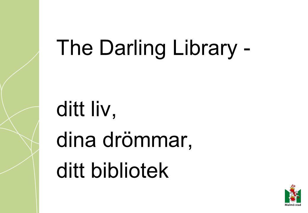 The Darling Library - ditt liv, dina drömmar, ditt bibliotek