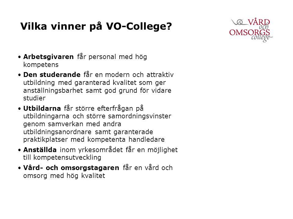 Vilka vinner på VO-College.