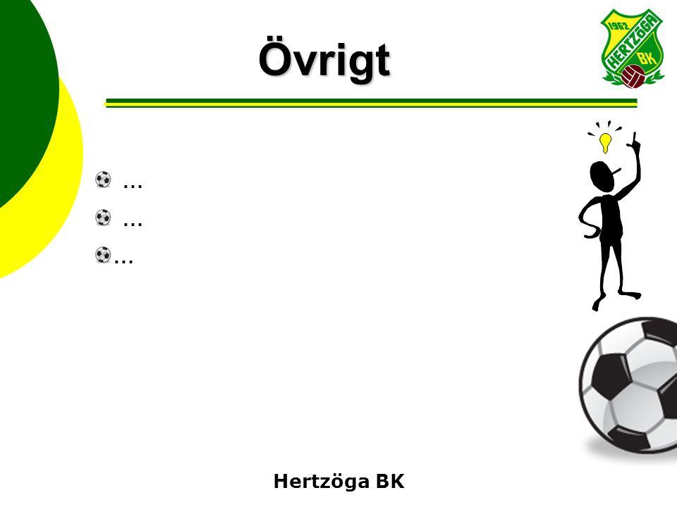 Hertzöga BK Övrigt …