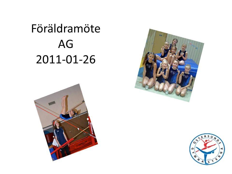 Föräldramöte AG 2011-01-26