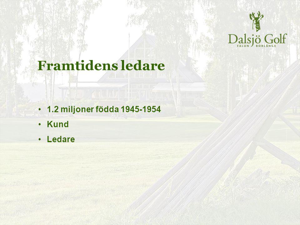 Dalsjö Golf Äldre ungdom – en jätteresurs Kombination av ungdomar och äldre ungdom Vinnande recept