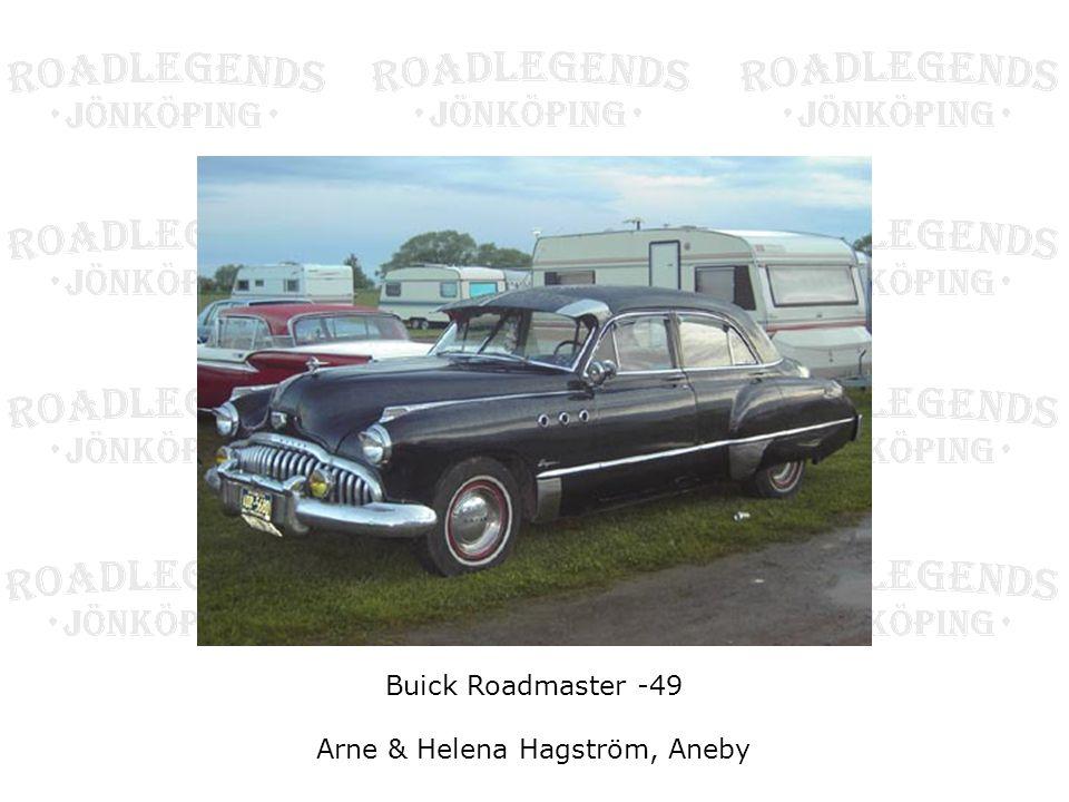 Buick Roadmaster -49 Arne & Helena Hagström, Aneby