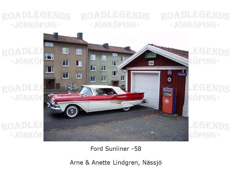 Ford Sunliner -58 Arne & Anette Lindgren, Nässjö