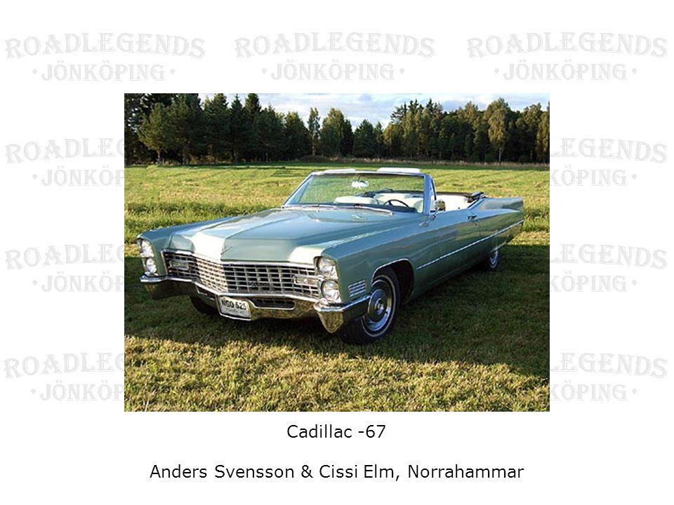 Cadillac -67 Anders Svensson & Cissi Elm, Norrahammar