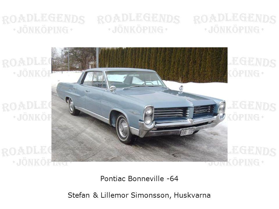 Pontiac Bonneville -64 Stefan & Lillemor Simonsson, Huskvarna