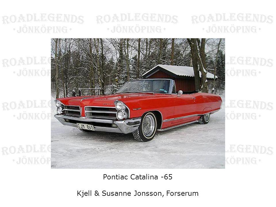 Pontiac Catalina -65 Kjell & Susanne Jonsson, Forserum