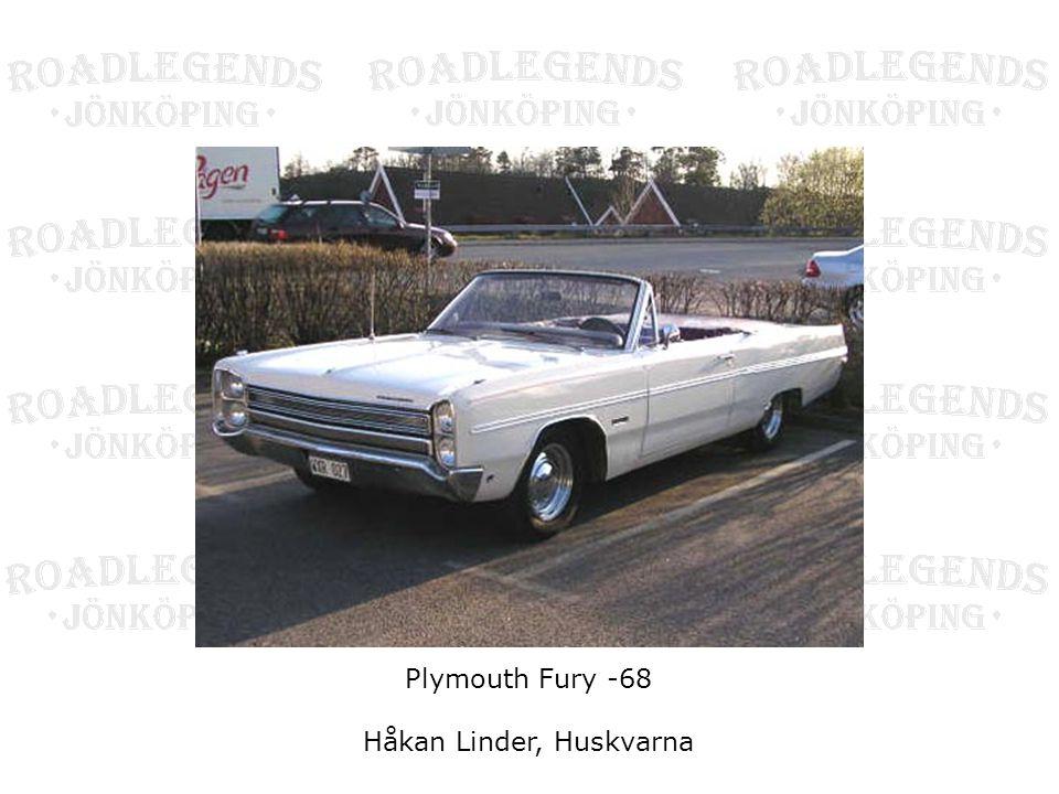 Plymouth Fury -68 Håkan Linder, Huskvarna