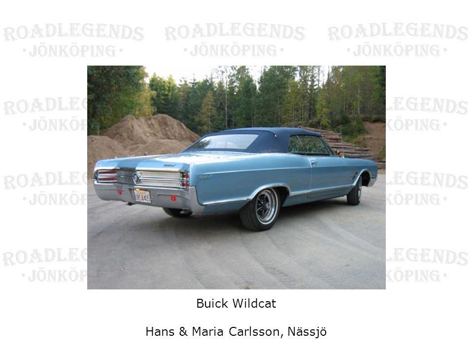 Buick Wildcat Hans & Maria Carlsson, Nässjö