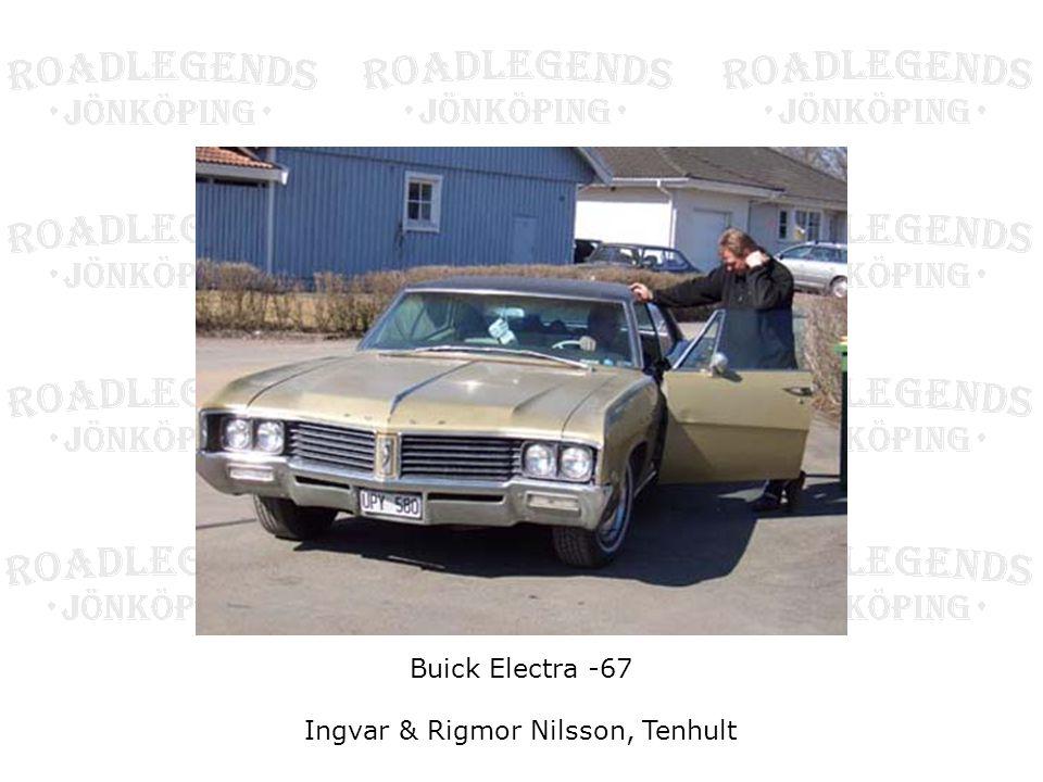 Buick Electra -67 Ingvar & Rigmor Nilsson, Tenhult