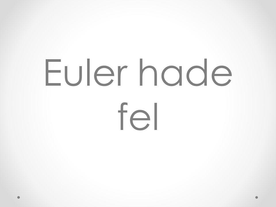 Euler hade fel
