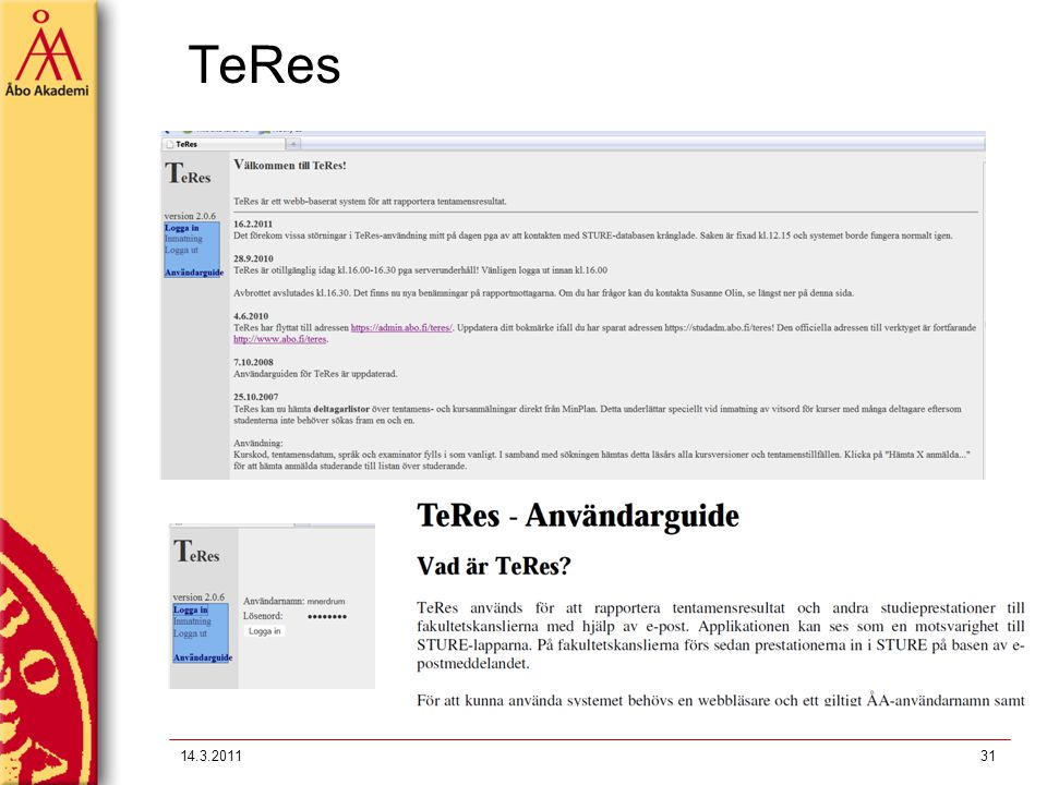 TeRes 14.3.201131