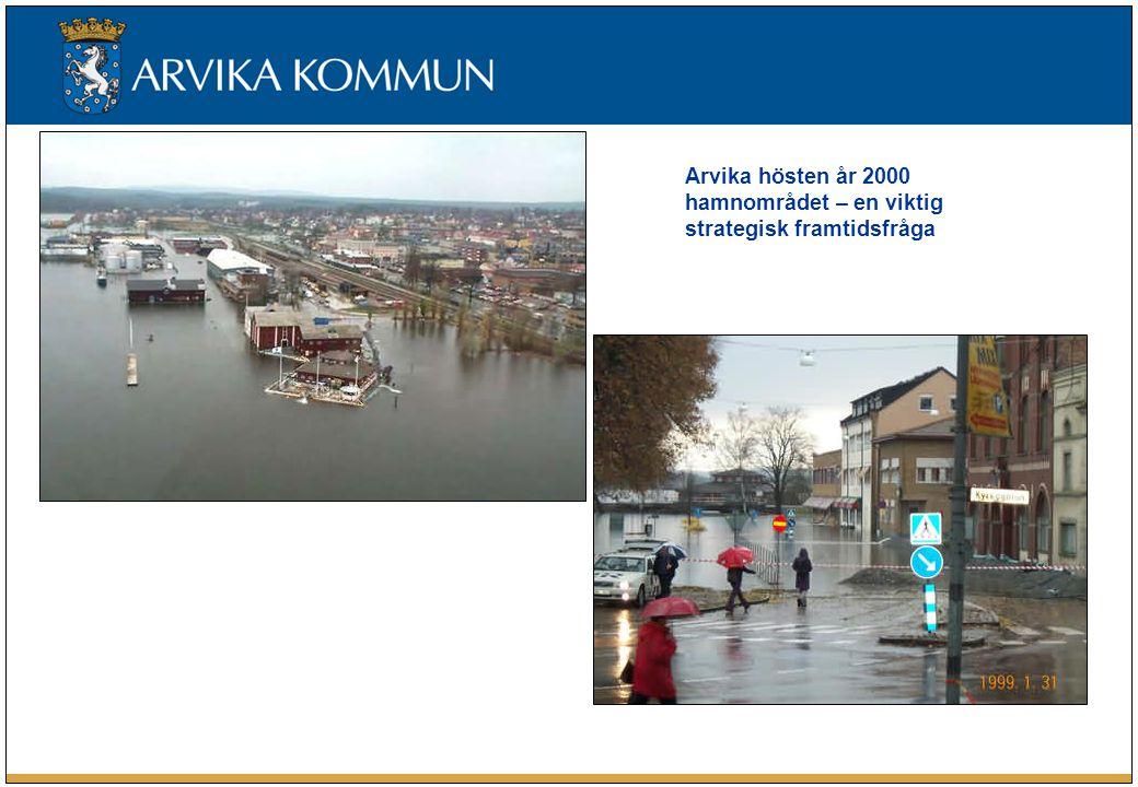 Arvika hösten år 2000 hamnområdet – en viktig strategisk framtidsfråga