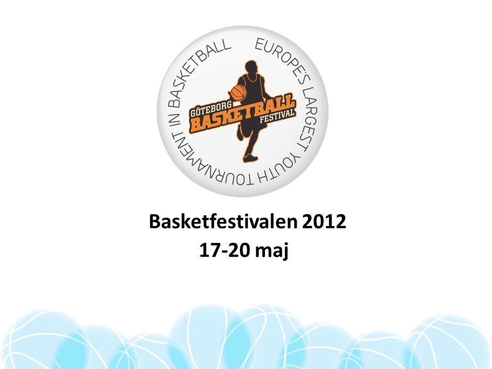 Basketfestivalen 2012 17-20 maj