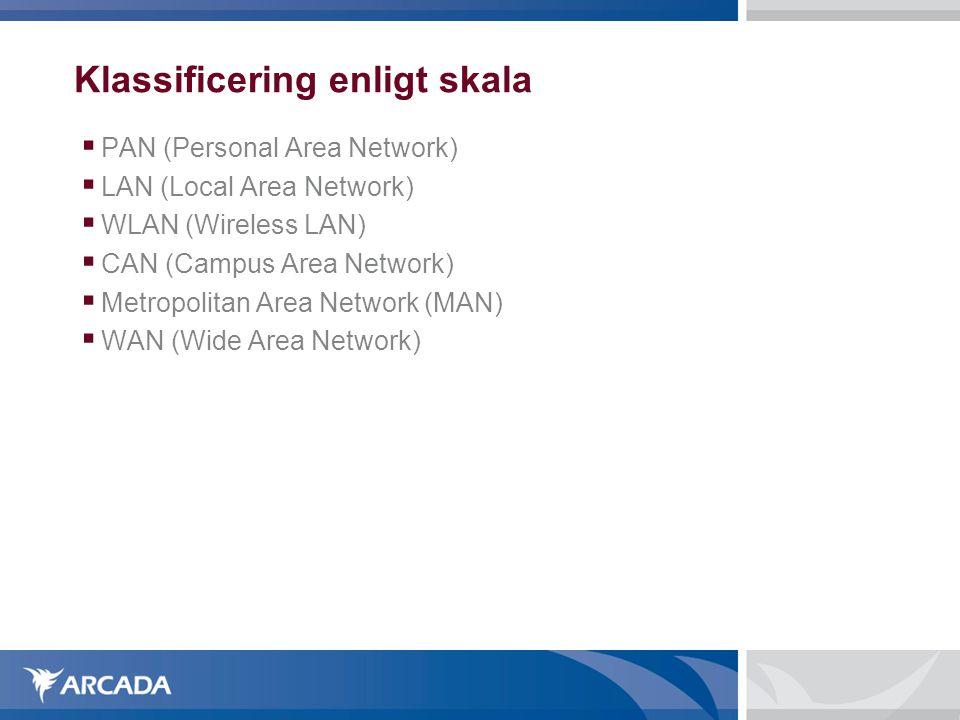 Koaxialkabel  Används främst som antennkablar för tv men också i vissa lokala datornätverk  Med en kabel på 1 kilometer kan man uppnå en bandbredd på 2 Gbit/s