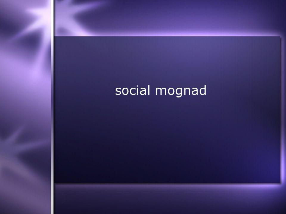 social mognad