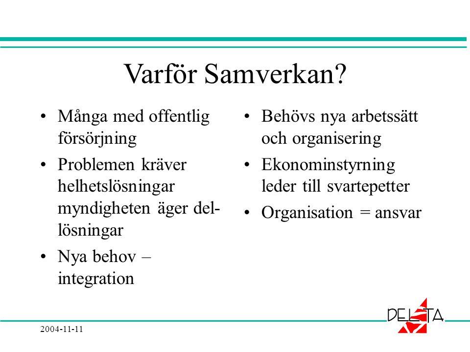 2004-11-11 Varför Samverkan.