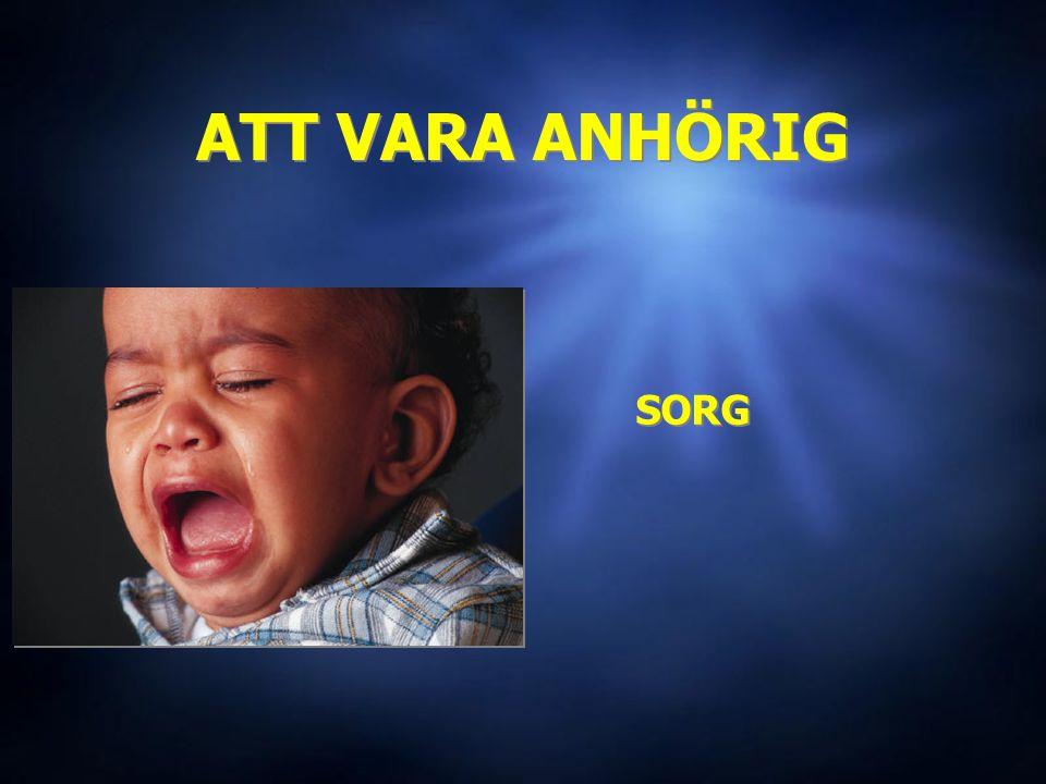 ATT VARA ANHÖRIG SORG