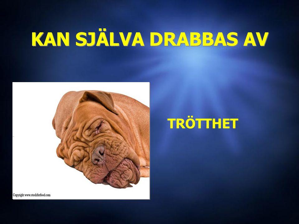 KAN SJÄLVA DRABBAS AV KAN SJÄLVA DRABBAS AV TRÖTTHET