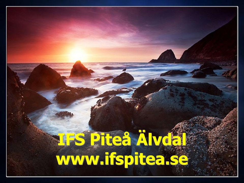 IFS Piteå Älvdal www.ifspitea.se