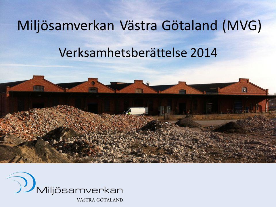 Miljösamverkan Västra Götaland (MVG) Verksamhetsberättelse 2014