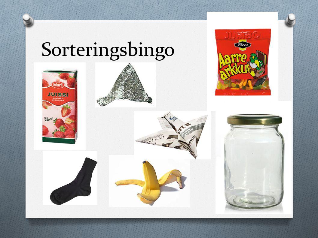 Sorteringsbingo