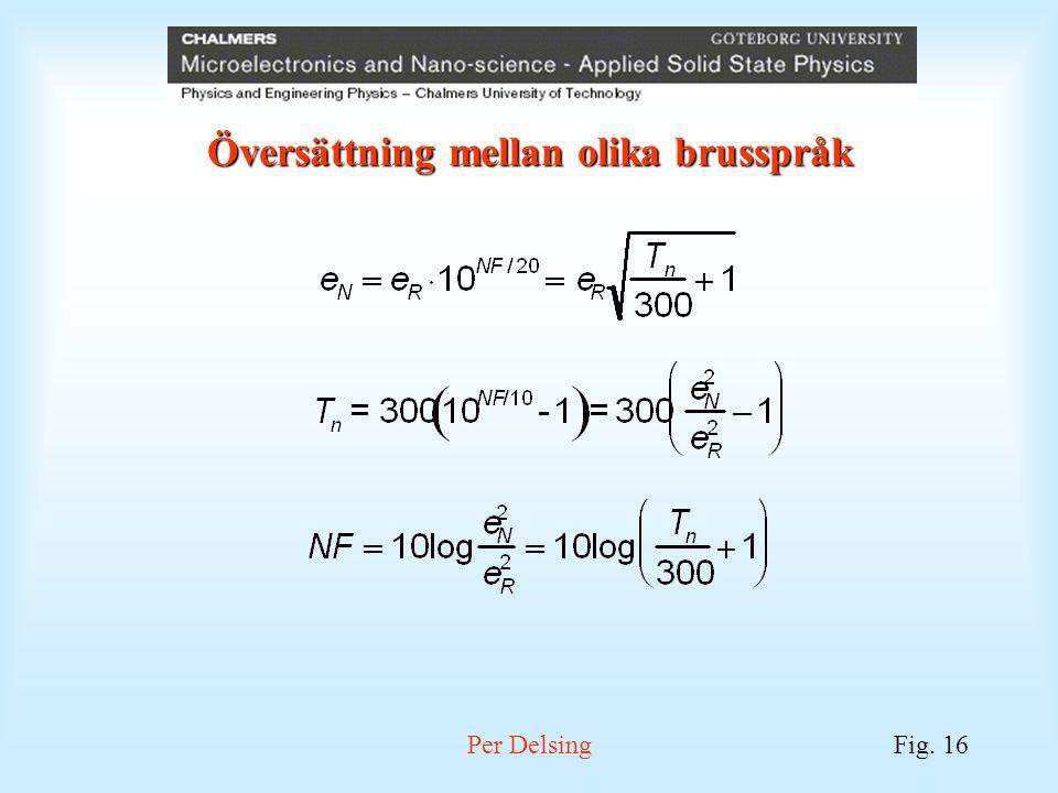 Per DelsingFig. 16 Översättning mellan olika brusspråk