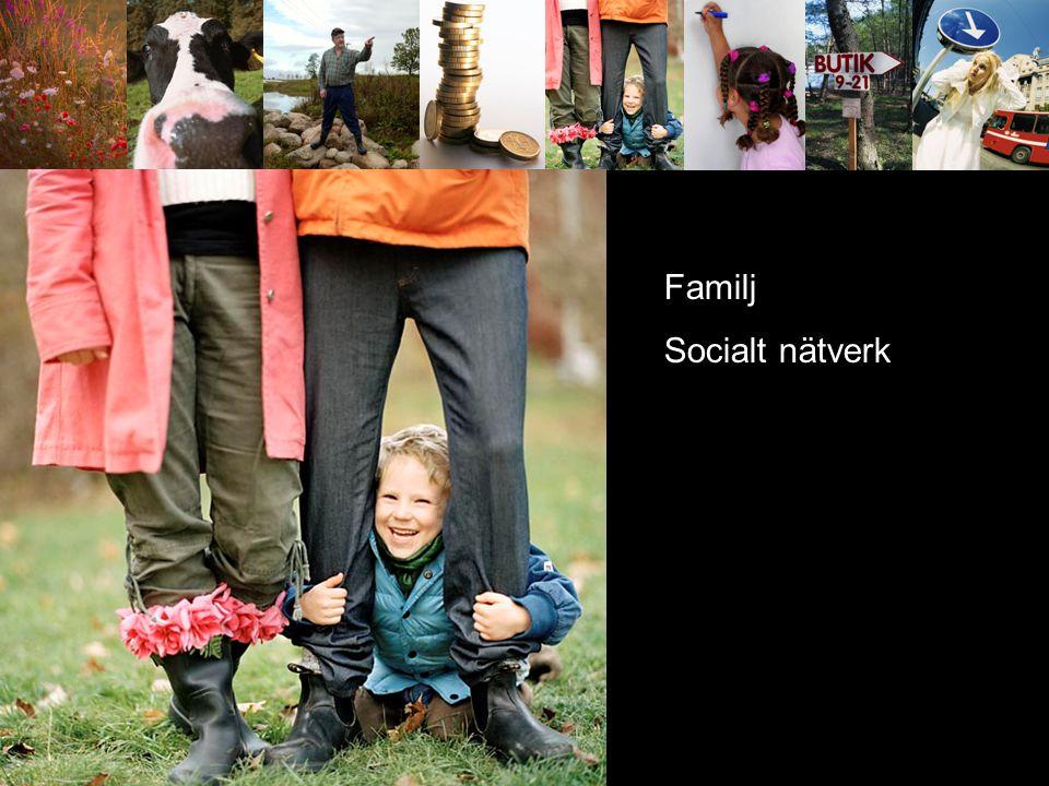 Kom service offent service kommunikationer Familj Socialt nätverk