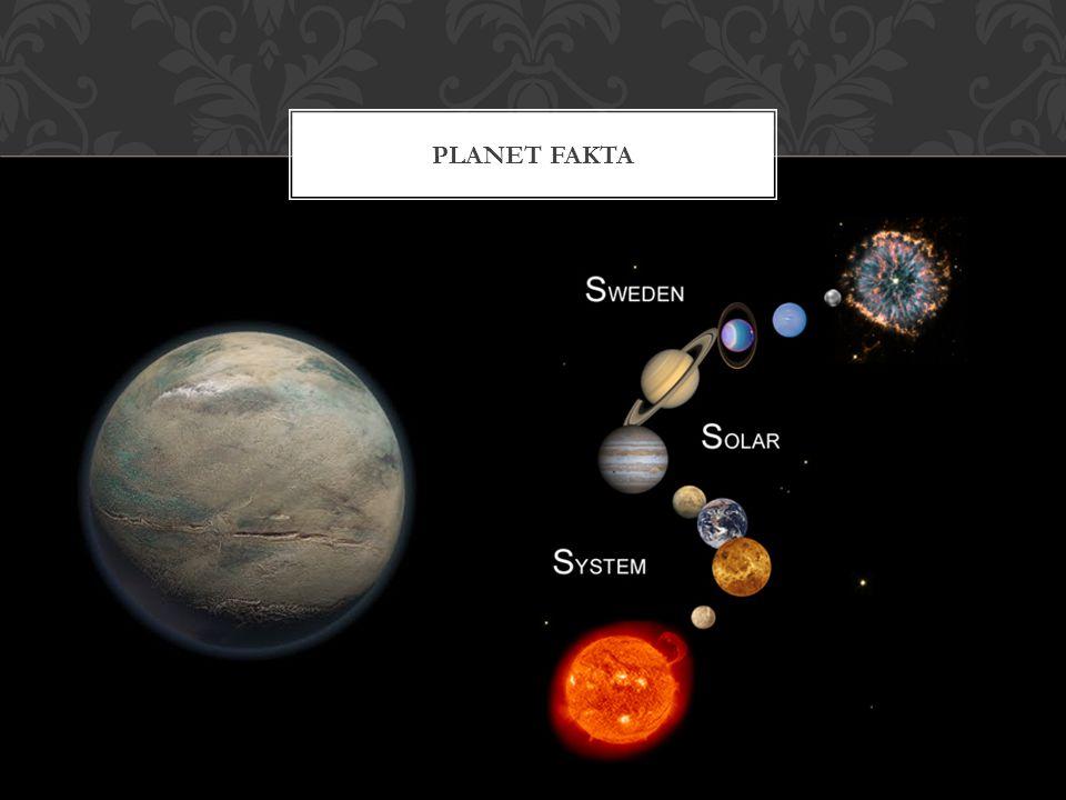 Pluto räknas inte längre som en planet utan det är en plutoid.