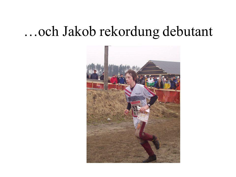…och Jakob rekordung debutant