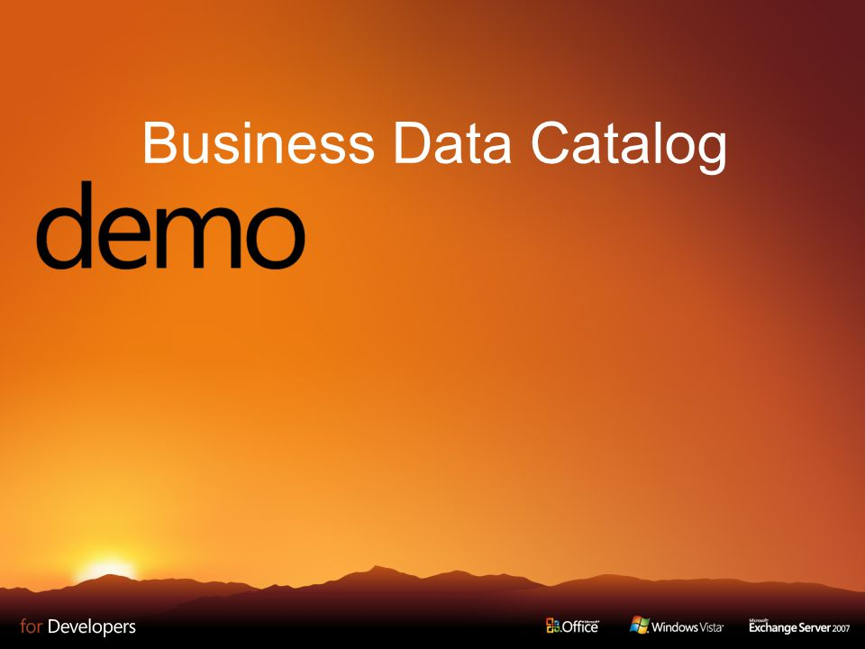 Business Data Catalog