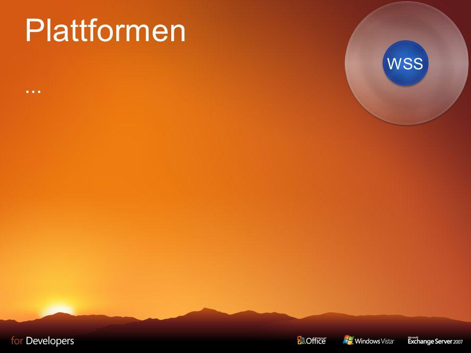 Plattformen... WSS